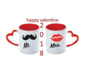 valentine love couple mug MR MRS