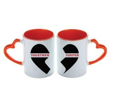 valentine love couple mug (Together Forever)