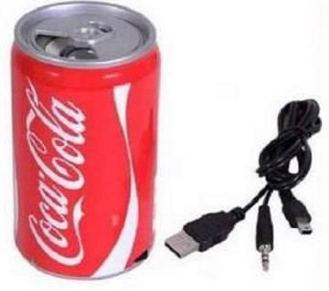 Coca Cola ক্যান ডিজাইন USB স্পিকার