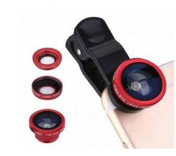 Universal 3 in 1 clip lens