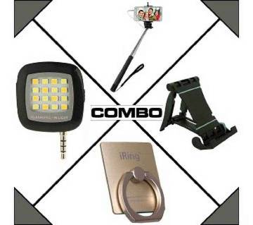 4 in 1 mobile accessories combo offer