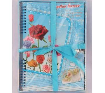 Valentine gift notebook