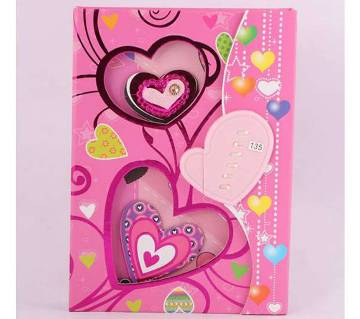 Sweetheart secret diary with lock