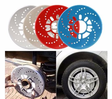 Car wheel decorative disk