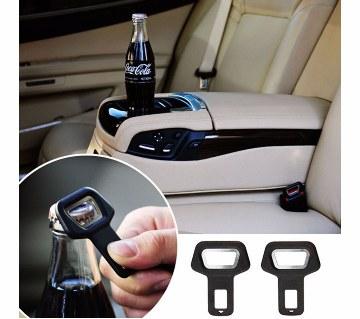seat belt clip for stop alarm
