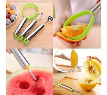 3pcs Fruit Cutter Set