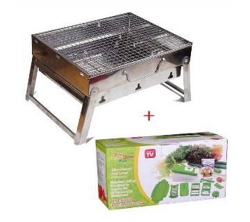 BBQ Grill Maker - Nicer Dicer Combo offer