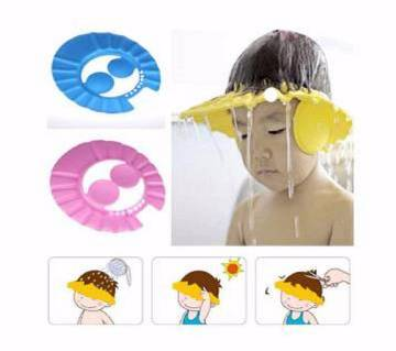 Baby bath shower cap