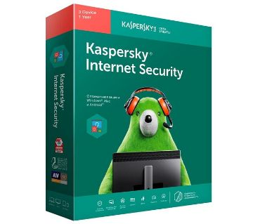 Kaspersky Internet security 2019 - 1 PC
