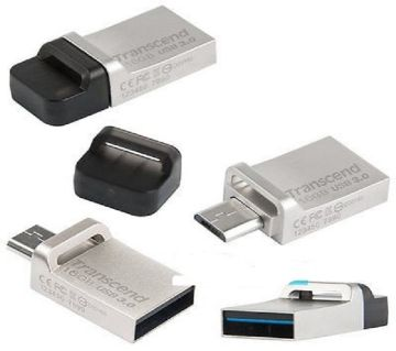 Transcend 16GB Jetflash 880S OTG USB3.0 Flash Drive