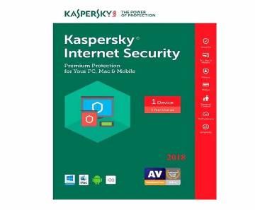 Kaspersky Internet Security 2018-1 Pc -
