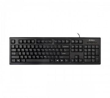 A4 Tech KR-83/85 Black Wired Multimedia (FN Hotkeys) Keyboard with Bangla