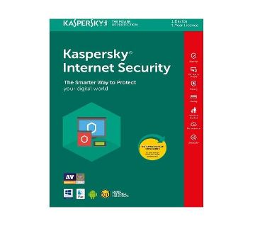 Kaspersky Internet Security 2021 3 PC - 1 Year