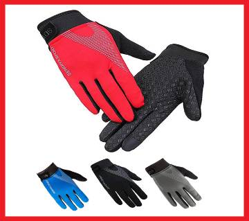 Running Cycling Breathable Full Finger Touch Screen Gloves