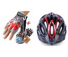 Hand crew Gloves+giant helmet combo Offer