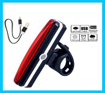 Bicycle USB Rechargeable Tail Light multi color