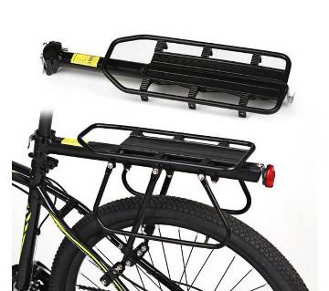 Adjustable bicycle aluminium carrier
