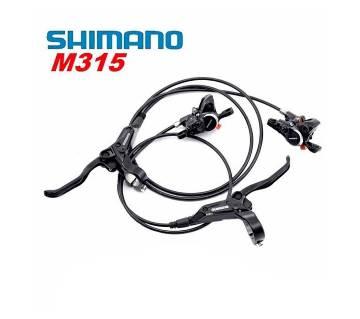 Shimano M315 ব্রেক সেট