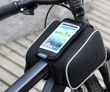 New Ros wheel Top Tube Double Phone Bag