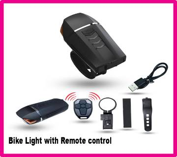 Bike Light With Remote Control Waterproof