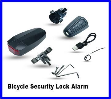 4 In 1 Bicycle Bike Security Lock Alarm  Anti-theft Remote Control Waterproof