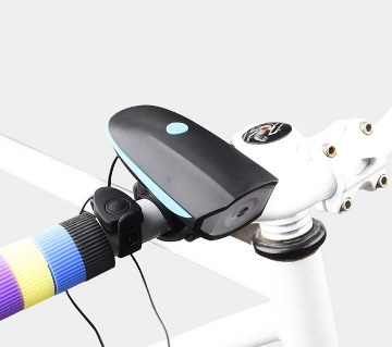 Rechargeable USB Bicycle Light With Horn