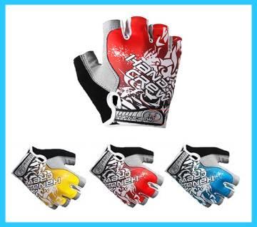 HandCrew Gel Padded Half Finger Gloves