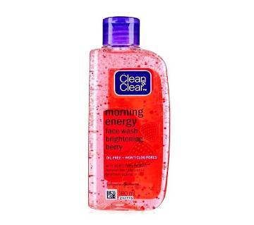 Clean & Clear Morning Energy (Berry) Face Wash (India)