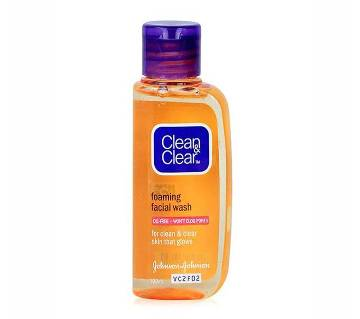 Clean & Clear Foaming Facial Wash (India)
