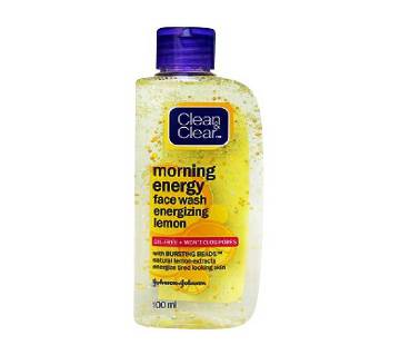 Clean & Clear Morning Energy (Lemon) Face Wash (India)