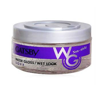 Gatsby Water Gloss Soft Hair Gel 300gm INDO