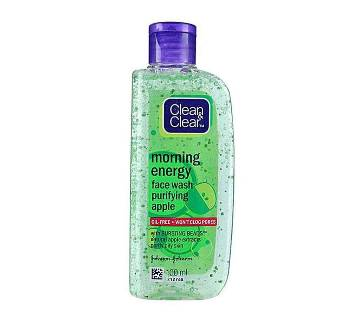Clear & Clear Morning Energy Purifying Apple Face Wash 100ml India