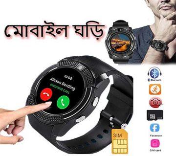 SIM Support Smart Watch-V8