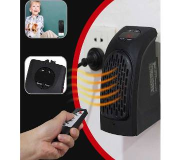 Mini Ceramic Space Heater, 400w Portable Fast Heating Electric Heater
