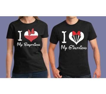 Valentine Half Sleeved T-Shirt