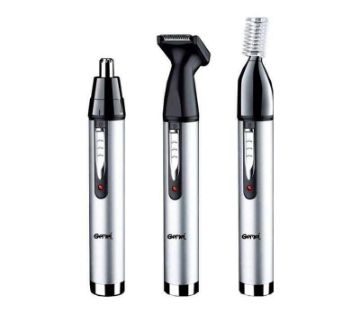 Gemei 3 in 1 Nose And Ear Hair Trimmer.