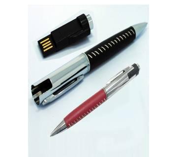 2 in 1 Metal Pen USB 8GB Pen-drive