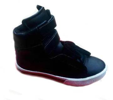 high neck casual boot for men