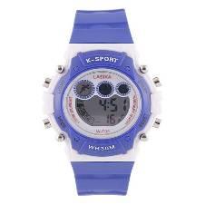 Rubber Digital Watch For Kids - Dark Blue