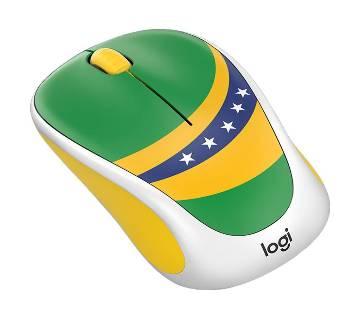 Logitech M238 ওয়্যারলেস মাউস (Brazil Flag )