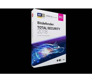 BitDefender Total Security 2018 (For 1 PC)