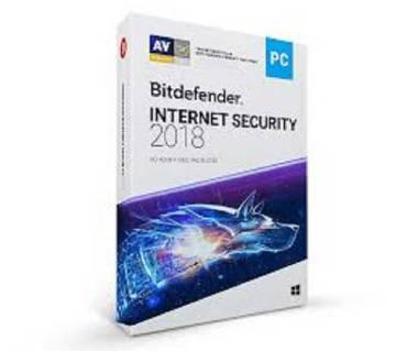 BitDefender Internet Security 2018  (For 1PC)