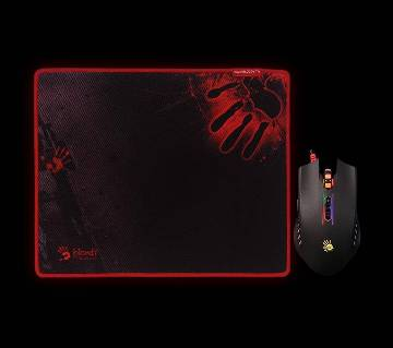 Gaming Mouse A4Tech Bloody Free Mouse Pad