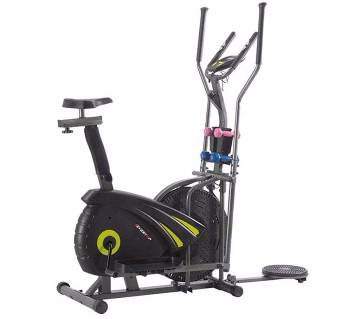Evertop ET-ORB16DAH Orbitrac MultiFunctional Exercise Bike - Black