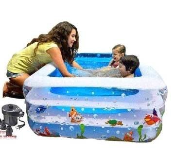 Original INFLATABLE BABY SWIMMING POOL with e-pump
