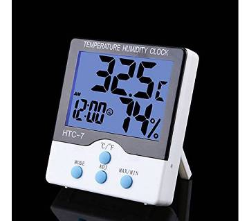Digital LCD display temperature + Hummity Clock