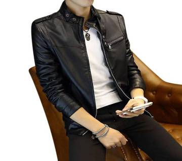 Full Sleeve Gents Casual Leather Jacket