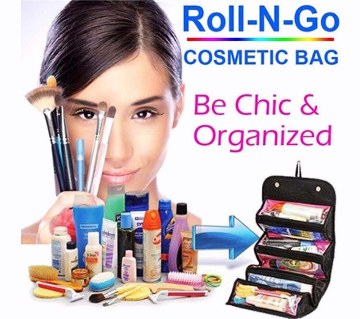 Roll N Go Cosmetic Organizer Bag