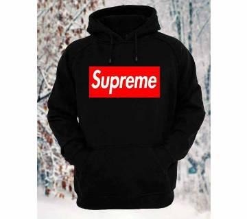 Supreme Full Sleeve Gents Casual Hoodie