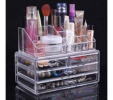 Cosmetics organizer for home use